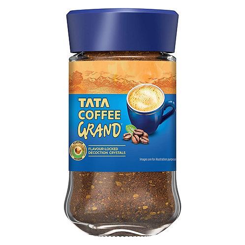 Tata Coffee Grand Instant Coffee, 50g (Jar)