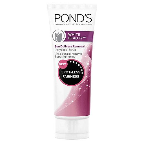Ponds White Beauty Sun Dullness Removal Daily Facial Scrub (50gm)