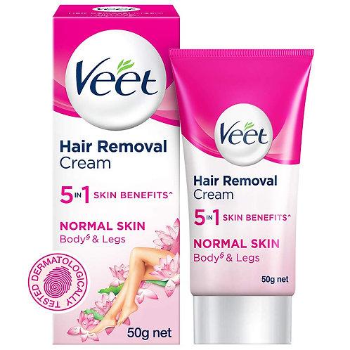 Veet - Hair Removal Cream (Normal Skin), 50g