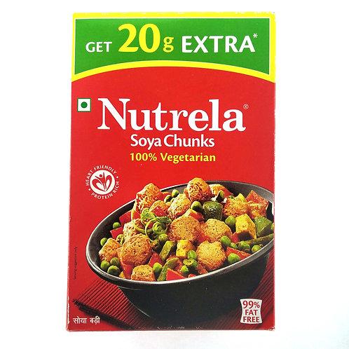 Ruchi Nutrela Soya Chunks, 200g (Get 20g EXTRA)