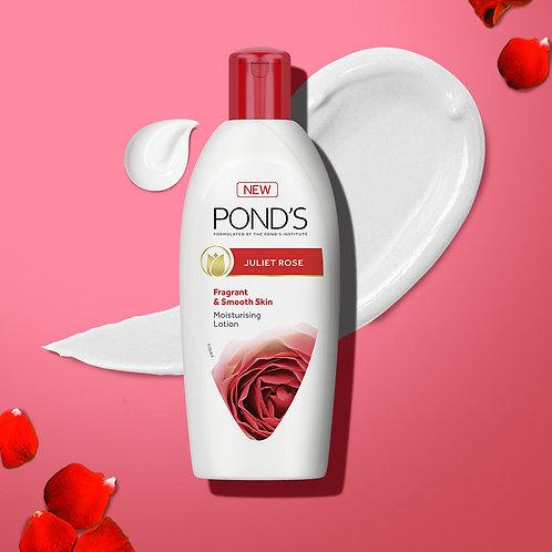 Ponds Juliet Rose Fragrant & Smooth Skin Moistursing Lotion (300ml)