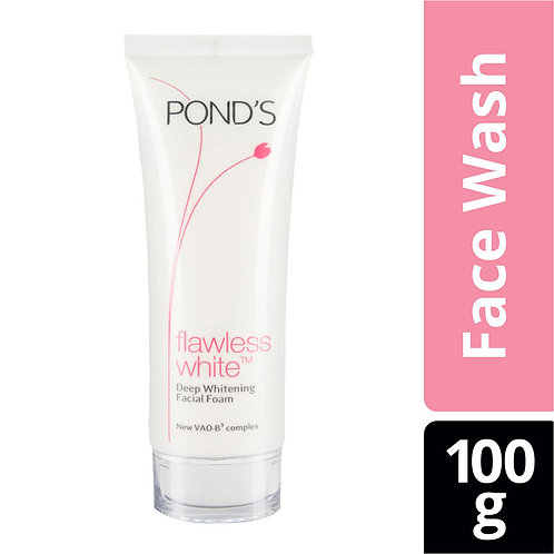 Ponds Flawless White Deep Whitening Facial Foam (100gm)