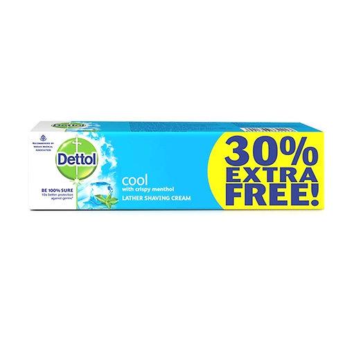 Dettol Cool Shaving Crème, 60g + 18g = 78g, 30% Extra  Free