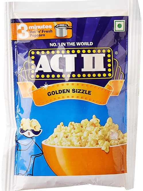 Act II Golden Sizzle, 30g + 10g Extra = 40g