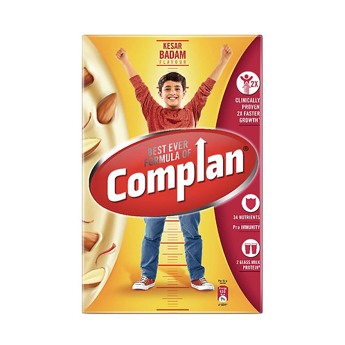 Complan Nutrition & Health Drink Kesar Badam, 500g (Carton)