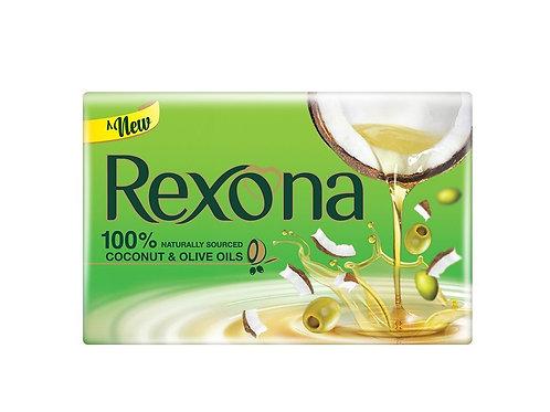 Rexona Coconut & Olive Oil Soap - 100g (Pack of 4)