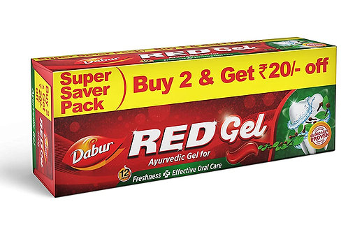 Dabur Red Gel, 150g + 150g (Pack of 2)