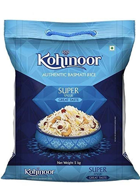 Kohinoor Super Value Basmati Rice, Blue 5kg