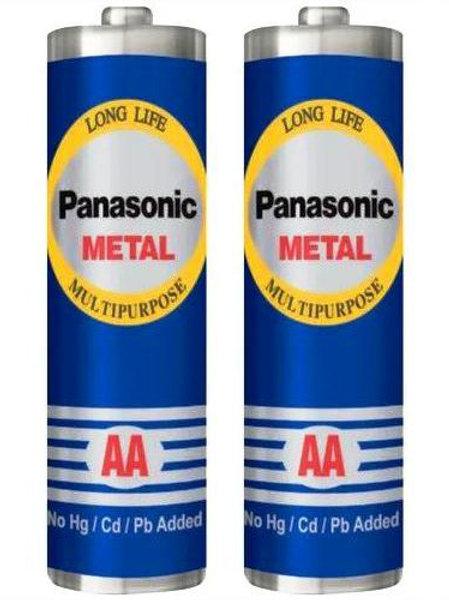 Panasonic Metal - AA Cell Battery (1+1)