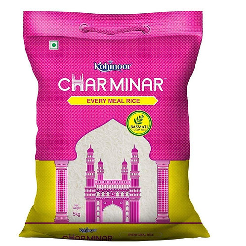 Kohinoor Char Minar Every Meal Rice (Mogra), 5kg