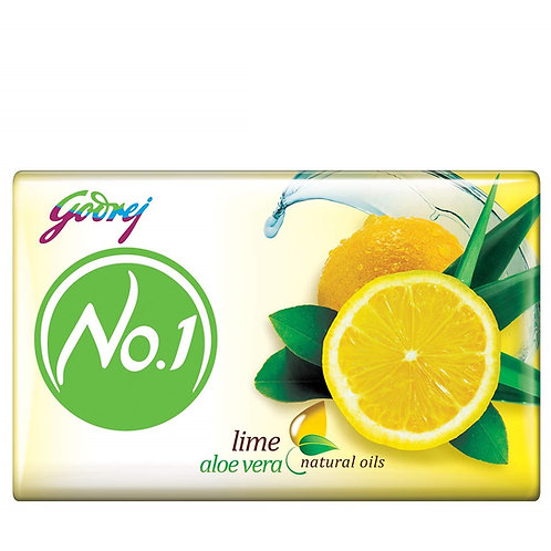 Godrej No.1 Bathing Soap – Lime & Aloe Vera, (4 X 63g) = 252g (10% Extra)