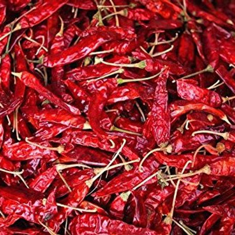 Dried Red Chillies, 100g (Loose)