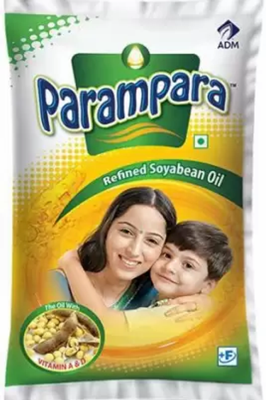 Parampara Refined Soyabean Oil, 1ltr