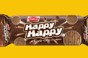 Parle Happy Happy Choco - Chip Cookies, (30g + 10g = 40g) 35% Extra