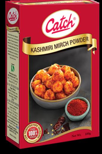 Catch Kashmiri Mirch Powder, 100g (Carton)