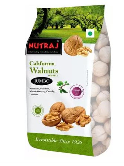 Nutraj- California Walnuts (In Shell), 1Kg