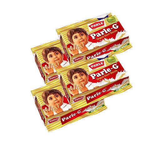 Parle-G Biscuits, 55g + 10g Extra = 65g (18% Extra) (1 x 4)