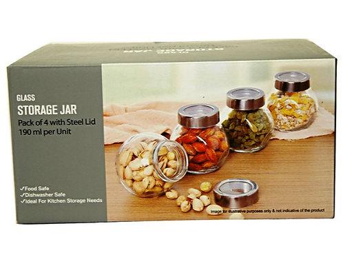 Imported - Glass Storage Jar