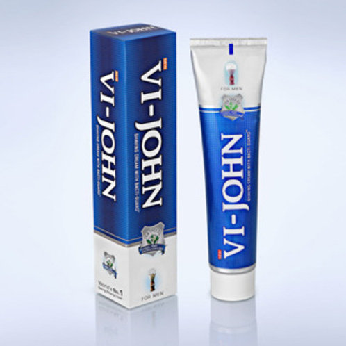 Vi-John Classic - Shaving Cream with Bacti-Guard, 125g