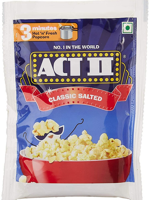 Act II Classic Salted, 30g + 10g Extra = 40g