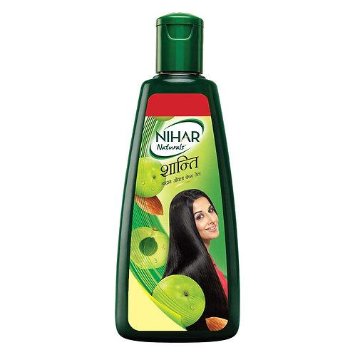 Nihar Naturals Shanti - Badam Amla Kesh Tail, 78ml + 12ml FREE = 90ml