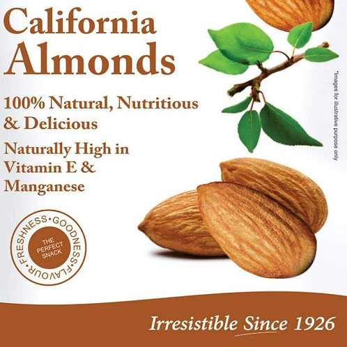 Nutraj California Almonds, 200g
