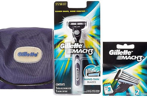 Gillette Mach 3 - Gift Pack (Limited Edition)