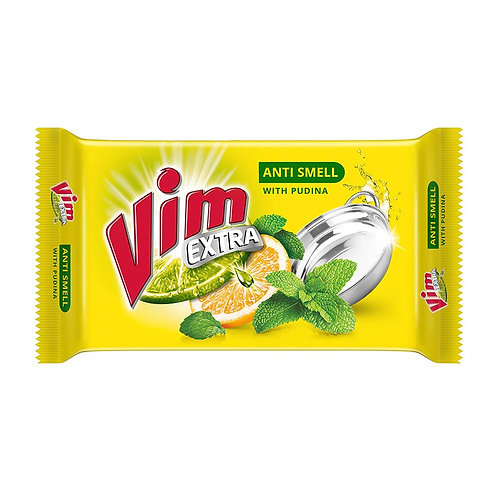 Vim Extra Dishwash Anti Smell with Pudina, 250g