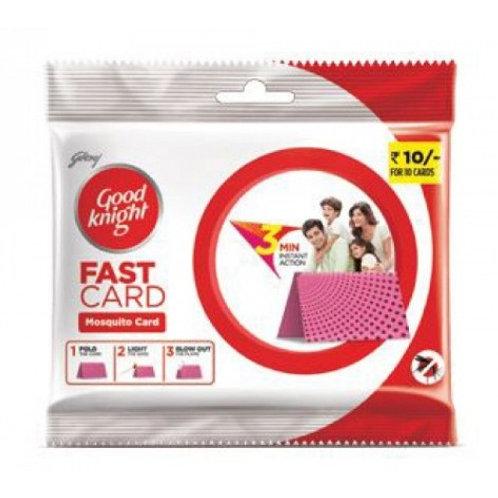 Good Knight Fast Card (1Pack x 10N)