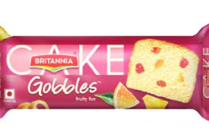 Britannia Cake Gobbles Fruity Fun, 120g (Contains Egg)