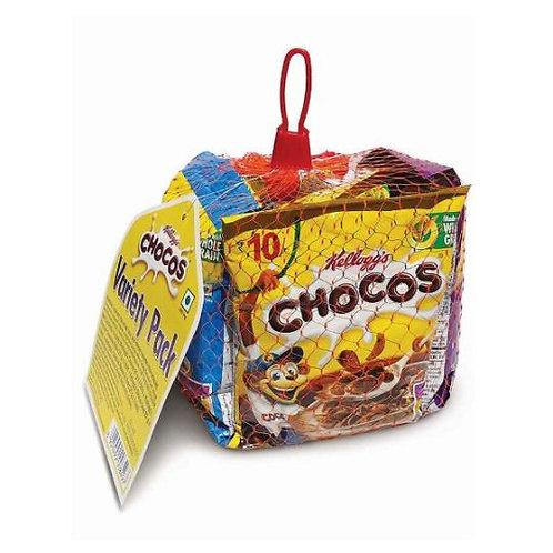Kellogg's Chocos - Variety Pack, 156 g (26g x 6N)