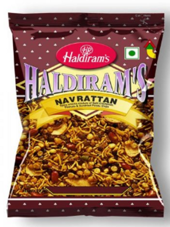 Haldiram's Navrattan, (200g + 20g Extra = 220g) - 10% Extra