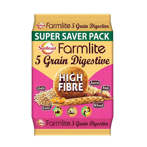 Sunfeast Farm Lite Digestive High Fiber Biscuits - 1kg