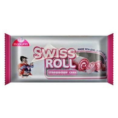 Monginis Swiss Roll- Strawberry Cake, 40g