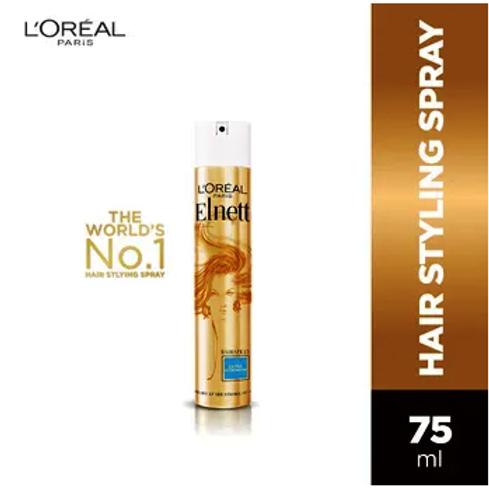 L'Oreal Paris Elnett Satin Extra Strength Hair Spray (75ml)