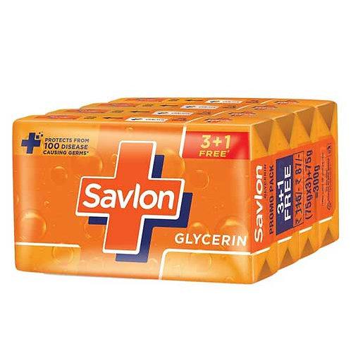 Savlon Glycerin Soap - 75g (3+1)