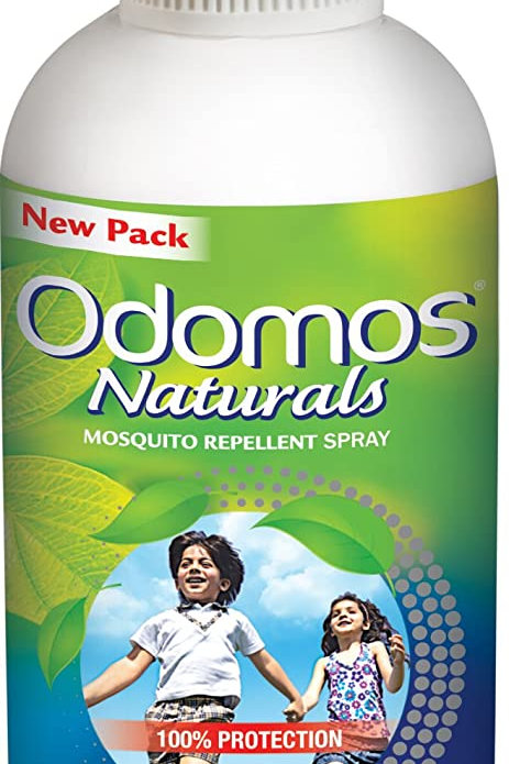 Odomos Naturals Mosquito Repellent Spray, 100ml