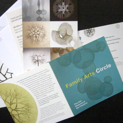 de Young Print Collateral