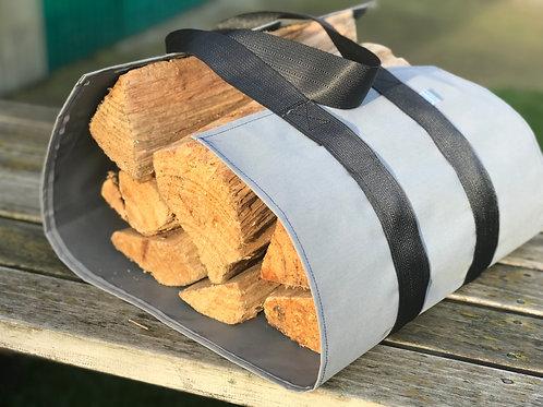 Blind Grey Firewood carrier