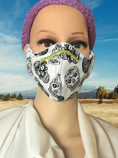 Skully filtered face mask