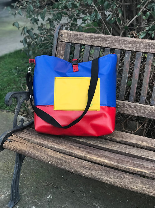Funky Primary tote