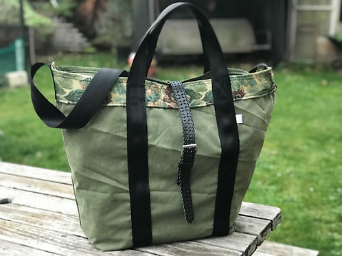 Natures Green XL tote