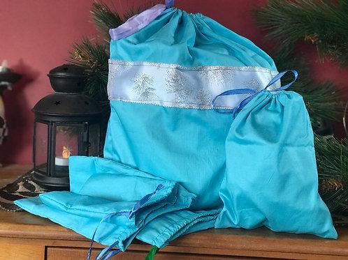 Sky Blue Gift Bag Set