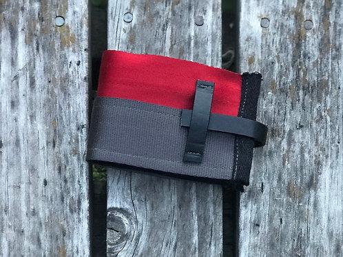 Classy Red- seatbelt wallet