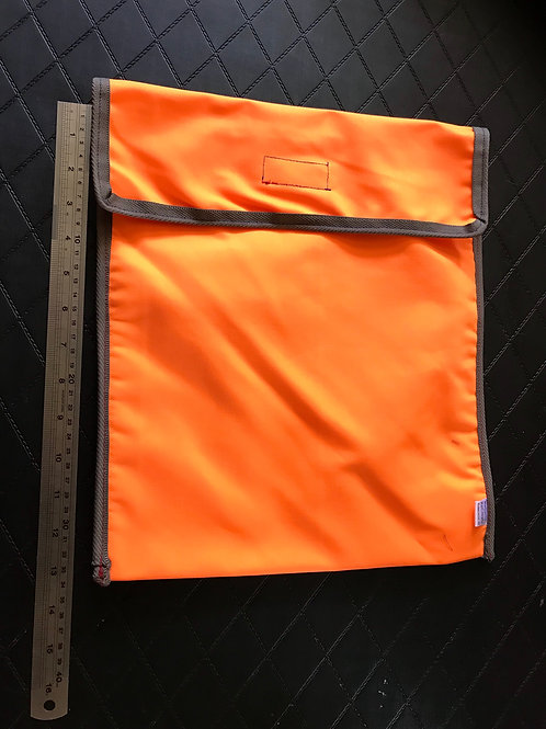 Fluro Orange Book Bag