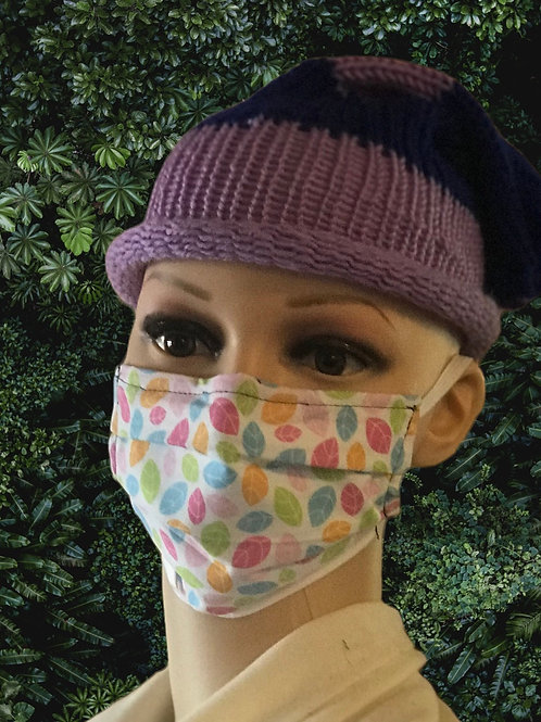 Lovely leaves- Adults & kids face mask with removable filter