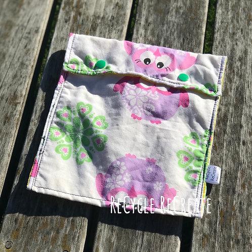 Owl Sandwich Bag