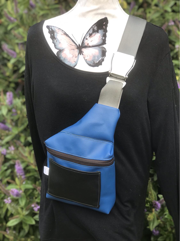 Yale Blue- Sling Bag
