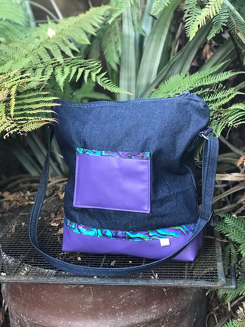Purple Paua Bag