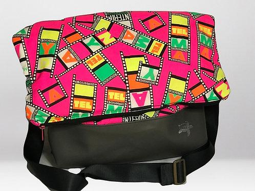 Hot Pink Film-Messack Bag